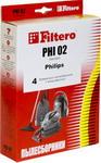 Аксессуар к технике для уборки  Filtero  PHI 02 (4) Standard
