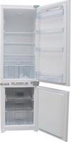 Встраиваемый двухкамерный холодильник  Zigmund & Shtain  BR 01.1771 SX