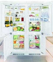 Встраиваемый холодильник Side by Side  Liebherr  SBS 66 I3