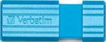 Флеш-накопитель  Verbatim  32 Gb PinStripe 49057 USB2.0 синий CARIBBEAN BLUE