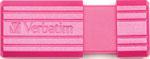 Флеш-накопитель  Verbatim  32 Gb PinStripe 49056 USB2.0 Hot Pink
