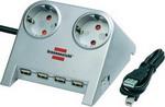 Стабилизатор напряжения, сетевой фильтр или ИБП  Brennenstuhl  Desktop-Power 1,8м (1153540122)
