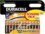 Батарейка, аккумулятор и зарядное устройство  Duracell  LR 03-12 BL BASIC (12/144/34272)