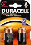 Батарейка, аккумулятор и зарядное устройство  Duracell  LR 14-2BL (20/60/6000)
