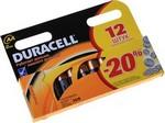 Батарейка, аккумулятор и зарядное устройство  Duracell  LR6-12 BL BASIC (12/144/24480)