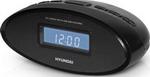 Радиоприемник и радиочасы  Hyundai  H-1535 (черный )