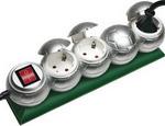 Стабилизатор напряжения, сетевой фильтр или ИБП  Brennenstuhl  Presenta-Line 4 розетки (1159090314)