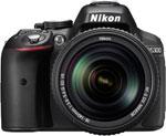 Фотоаппарат  Nikon  D 5300 kit 18-140 VR черный