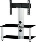 Подставка, стойка, полка для телевизора и аппаратуры  Sonorous  Neo 80-B SLV