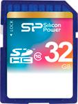 Карта памяти  Silicon Power  SDHC 32 Gb Class 10 SP 032 GBSDH 010 V 10