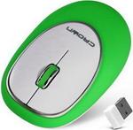 Мышь компьютерная и клавиатура  Crown  CMM-931 W (green)
