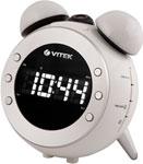 Радиоприемник и радиочасы  Vitek  3525 (W)