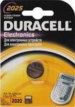 Батарейка, аккумулятор и зарядное устройство  Duracell  CR 2025