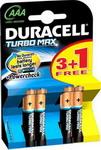 Батарейка, аккумулятор и зарядное устройство  Duracell  LR 03/MX 2400-4BL TURBO MAX