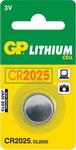 Батарейка, аккумулятор и зарядное устройство  GP  2025 5 шт.