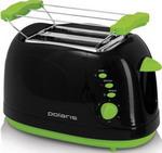 Тостер  Polaris  PET 0702 LB черный/зеленый