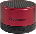 Акустическая система и док-станция  Defender  Wild Beat red 65556