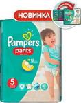 Подгузник  Pampers  Pants Junior 12-18 кг, 5 размер, 15 шт