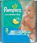 Подгузник  Pampers  Activ Baby-Dry 4-9 кг 3 размер 22 шт