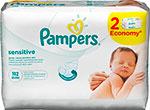 Салфетки детские  Pampers  Sensitive 112 шт
