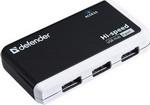 Разветвитель USB  Defender  QUADRO INFIX USB2.0 83504