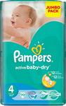 Подгузник  Pampers  Active Baby-Dry 4 (7-14 кг) 70 шт