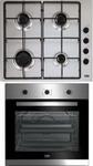 Встраиваемый комплект (варочная панель+духовой шкаф)  Beko  BSC 22130 X