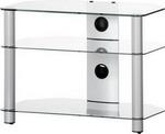 Подставка, стойка, полка для телевизора и аппаратуры  Sonorous  Neo 370-C-SLV
