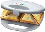 Бутербродница или вафельница  Clatronic  ST 3477 weiss