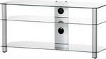 Подставка, стойка, полка для телевизора и аппаратуры  Sonorous  NEO 3110-C-SLV