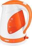 Чайник электрический  BBK  EK 1700 P белый/оранжевый