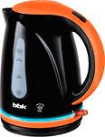 Чайник электрический  BBK  EK 1701 P черный/оранжевый