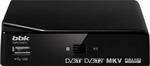 Цифровой телевизионный ресивер  BBK  SMP 015 HDT2 чёрный