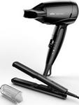 Щипцы для укладки волос  BRAUN  ST 100 + фен HD 130 Satin Hair 1