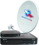 Комплект спутникового телевидения  Триколор   Сибирь  GS E 501 + GS C 591 (на 2 ТВ)