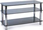 Подставка, стойка, полка для телевизора и аппаратуры  Metaldesign  MD 507 Plasma хром - дымчатое стекло