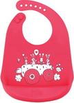 Нагрудник и слюнявчик  Happy Baby  BIB POCKET 16006 Red