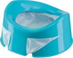 Горшок и сиденье детское  Happy Baby  MINI POTTY 34004 blue