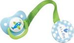Соска для бутылочек, соска-пустышка и зубопрорезыватель  Happy Baby  BIMBO 13007 Blue