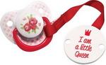 Соска для бутылочек, соска-пустышка и зубопрорезыватель  Happy Baby  LITTLE QUEEN & LITTLE KING 13005 Pink