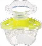 Соска для бутылочек, соска-пустышка и зубопрорезыватель  Happy Baby  SILICONE TEETHER 20000 LIME