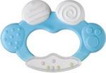 Соска для бутылочек, соска-пустышка и зубопрорезыватель  Happy Baby  TEETHER RATTLE 20002 Blue