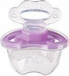 Соска для бутылочек, соска-пустышка и зубопрорезыватель  Happy Baby  SILICONE TEETHER 20000 VIOLET