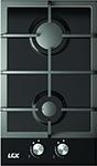 Встраиваемая газовая варочная панель  Lex  GVG 320 Black