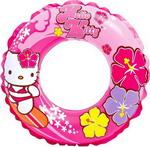 Надувной круг и нарукавник  Intex  Hello Kitty 61 см 56210