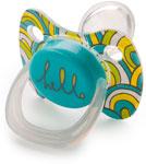 Соска для бутылочек, соска-пустышка и зубопрорезыватель  Happy Baby  BABY PACIFIER 13011 BLUE