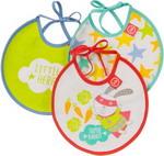 Нагрудник и слюнявчик  Happy Baby  TERRY BIBS 16007 RABBIT (зайчик)