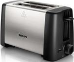 Тостер  Philips  HD 4825/90 Daily Collection черный/сталь