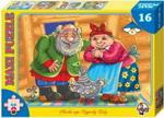 Настольная развивающая и обучающая игра  Десятое Королевство  Сказка про курочку Рябу (16 деталей)