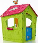 Детский игровой домик  Keter  Magic 17185442 зеленый с пурпурным